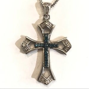 Kay Jewelers diamond cross necklace